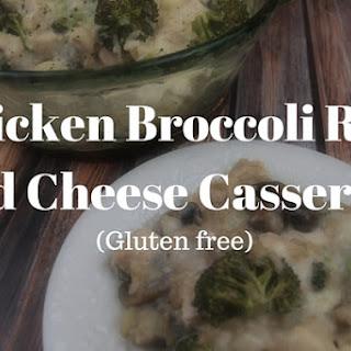 Chicken Broccoli Rice and Cheese Casserole