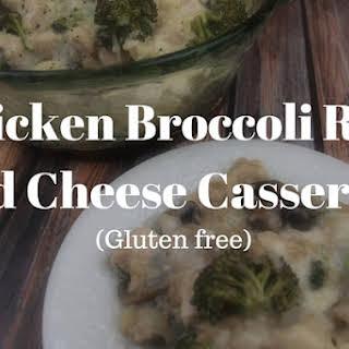 Chicken Broccoli Rice and Cheese Casserole.