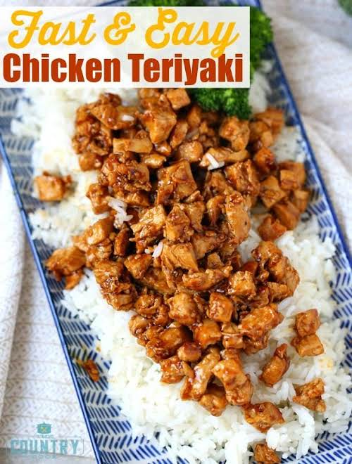 Click Here for Recipe: Fast and Easy Chicken Teriyaki This quick and...