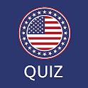 US Civics Quiz: Citizenship Naturalization Test icon