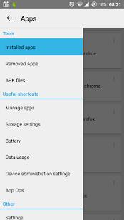 App Manager - screenshot thumbnail