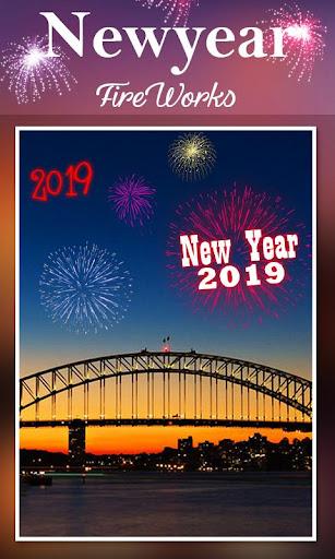 2019 New Year Fireworks Live Wallpaper 1.0.10 screenshots 6