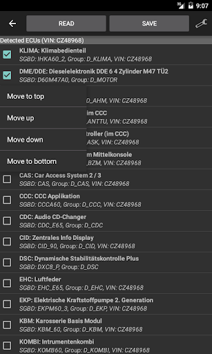 Deep OBD for BMW and VAG screenshots 5