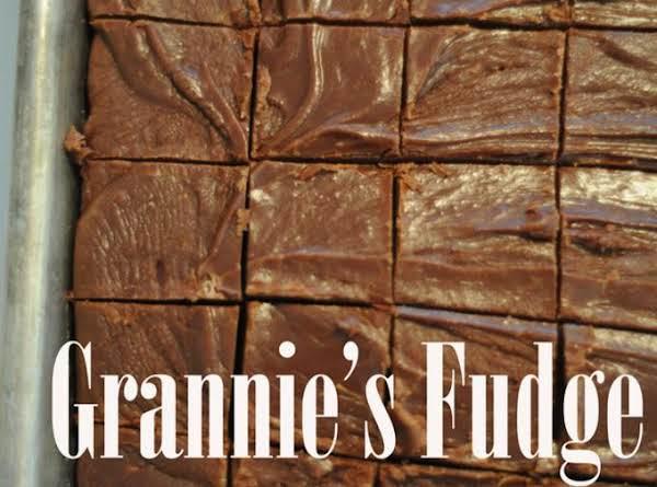Grannie's Fudge Recipe