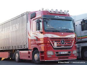 Photo: ACTROS MP2, Megaspace aus EST ----> www.truck-pics.eu