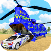 Offroad Police Transporter Sim: Police Games 2018