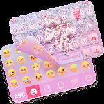 Unicorn Emoji iKeyboard Theme Icon
