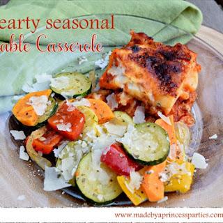 Hearty Seasonal Vegetable Casserole