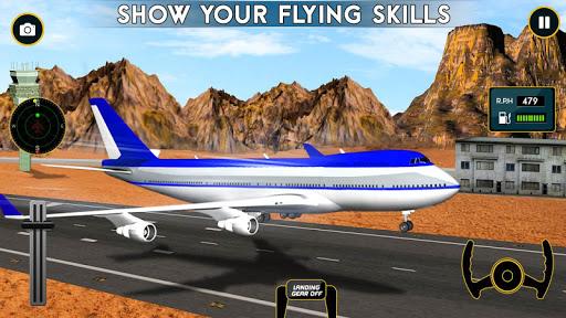 Airplane Flight Pilot Sim 3D 1.0 screenshots 6