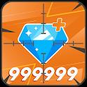 Diamonds For FIRE Converter 💎 Free icon
