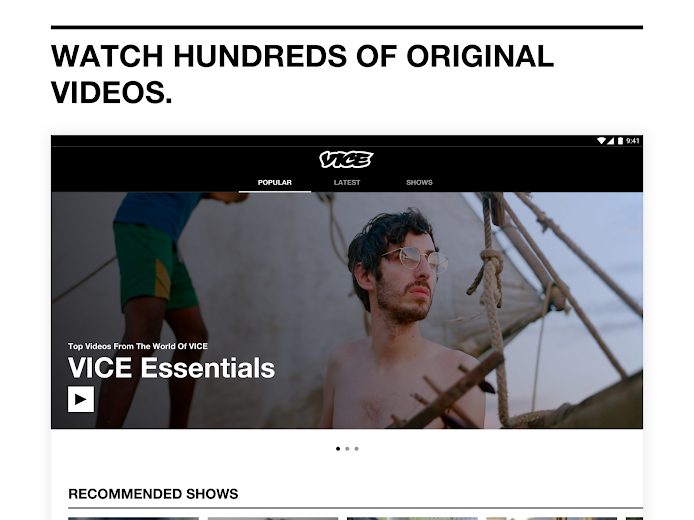 Screenshot 8 for VICE's Android app'