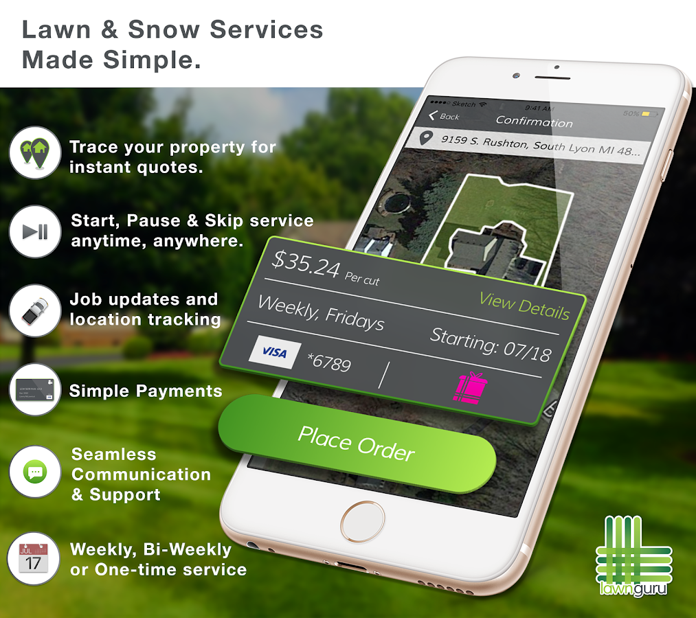 LawnGuru Lawn and Snow Service- screenshot