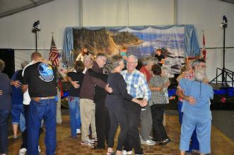 Photo: De and Marv dance, Jim and Melva dance
