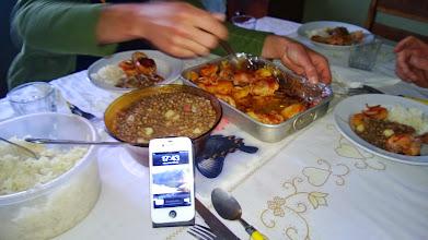 Photo: Repas à 18H!