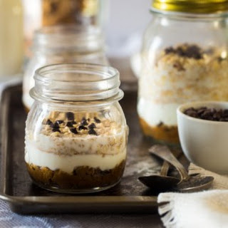 Cookie Dough Overnight Oats.