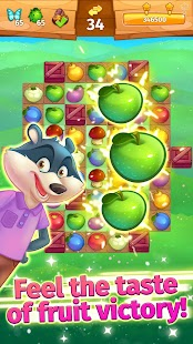 Animal Village / match-3 game - náhled
