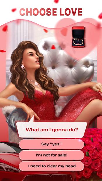 Love Sick: Interactive Stories Android App Screenshot