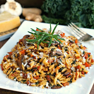 Autumn Orzo with Caramelized Vegetables