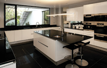 Photo: Kitchen at Fray León House . By Snaidero /  ©2010 Guy Wenborne