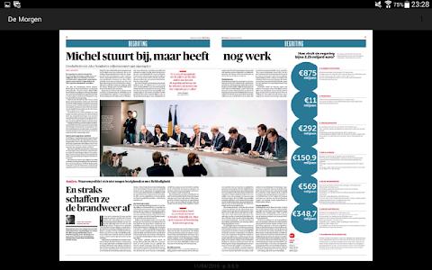 De Morgen digitale krant screenshot 7