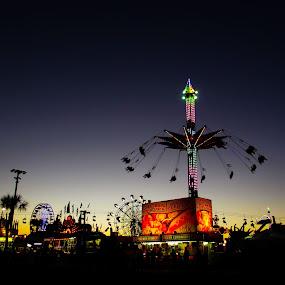 by Asya Atanasova - City,  Street & Park  Amusement Parks ( fun, swing, fair, entertainment, ferris wheel,  )