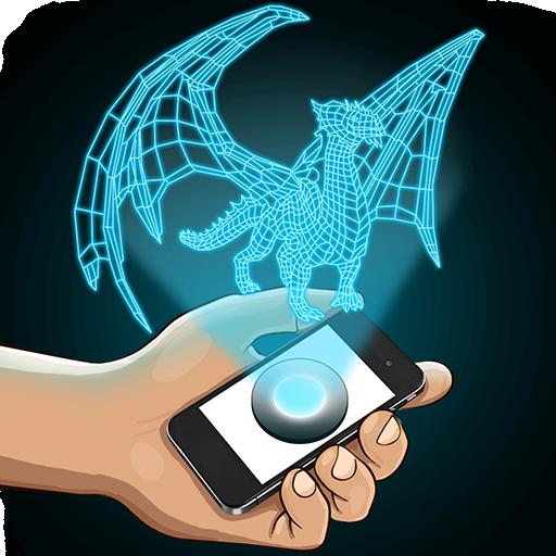 ホログラムドラゴン3Dシミュレータ 模擬 App LOGO-APP試玩