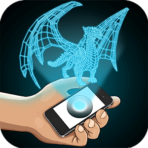 Hologram Dragon 3D Simulator for PC and MAC