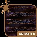Spark Swirl Animated Keyboard icon