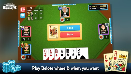 Multiplayer Belote & Coinche 6.1.6