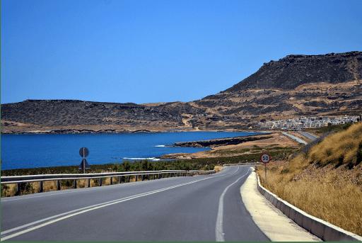 Grèce voyage moto