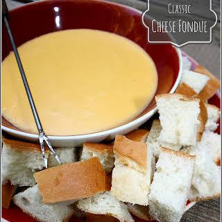Cheese Fondue.