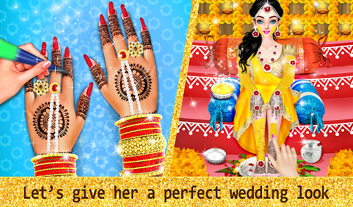 Download Indian Wedding Designer Sarees Beauty Salon Makeup For Pc