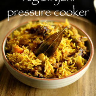 Veg Biryani Recipe | Vegetable Biryani In Pressure Cooker