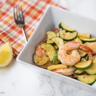 SautéEd Shrimp with Zucchini Recipe
