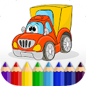 Free Boys Coloring Book: Cars icon