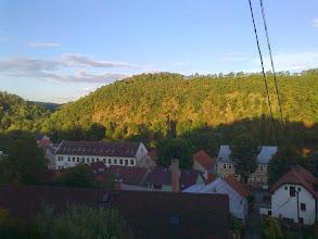 Photo: Davle, pohľad z Mosta Vltavanů