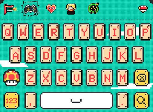 Super Mario FancyKey Keyboard