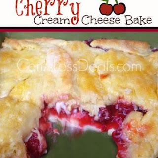 Cherry Cream Cheese Bake Recipe