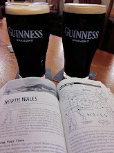 Photo: It's not Ireland but we still enjoyed a pint of Guiness after the walk