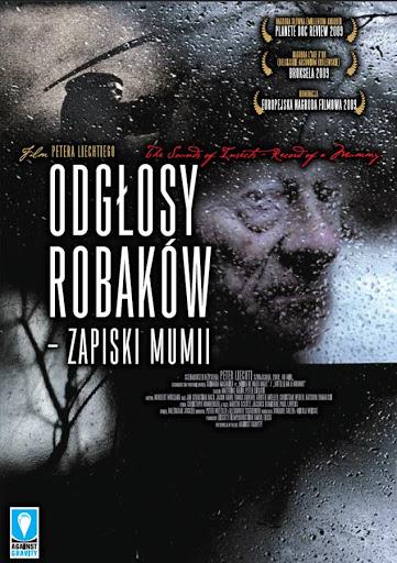 Polski plakat filmu 'Odgłosy Robaków - Zapiski Mumii'