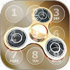 Zappeln Spinner Sperrbildschirm App