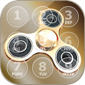 Fidget Spinner Phone Lock Screen App