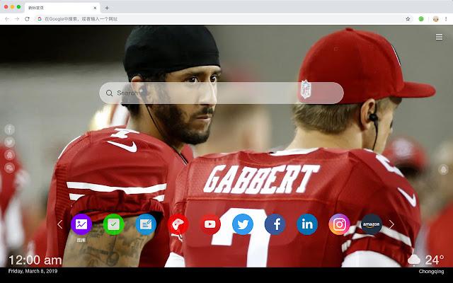 San Francisco 49 people Popular NFL HD Themes