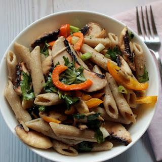 Fresh Mushroom Pasta Salad