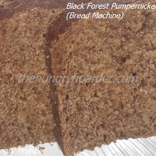 Black Forest Pumpernickel Bread (Bread Machine).