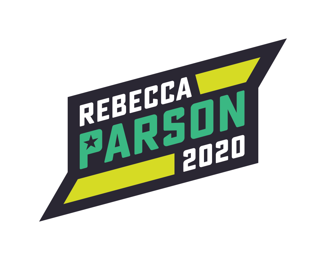 Rebecca Parson logo