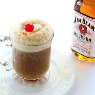 Bourbon Root Beer Ice Cream Floats Recipe