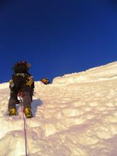 Photo: Justo antes de llegar al final del ascenso al Col del Maudit.