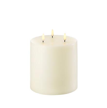 UYUNI Triple Flame LED - Ivory - 15,2x18cm