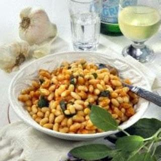 Fagioli All´Uccelletto (WeißE Bohnen Mit Salbei) Recipe